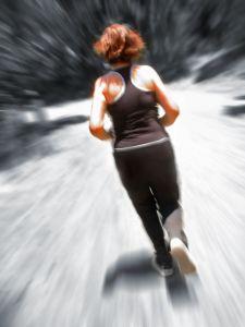 Joggen und Laufen jederzeit