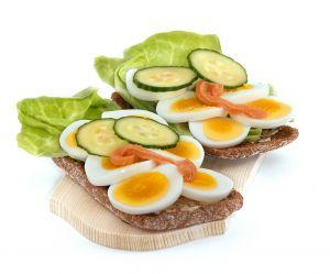 Gesund essen, leckeres Brot