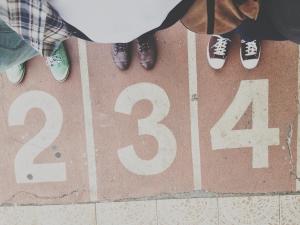 Schuhe und laufen gehören zusammen