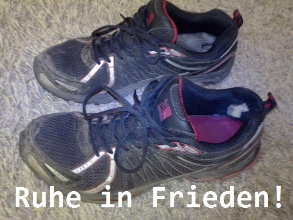 Laufschuhe entsorgen & beerdigen