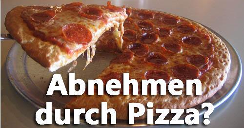 Welche Pizza macht nicht dick